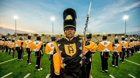 ASU band photo